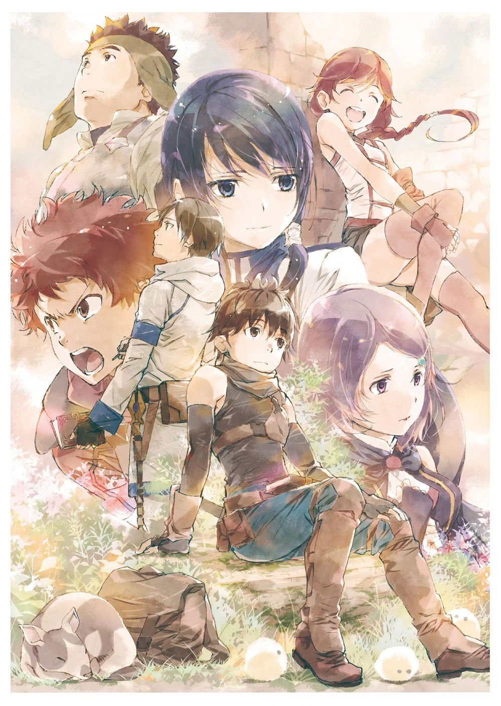�D�ƌ��t�̃O�����K�� -Grimgar, Live and Act-�@Blu-ray